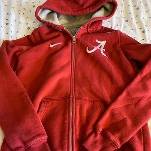 Nike Alabama Zip Up Hoodie